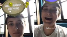 Robin Williams's Daughter Gets Sweet Surprise From Disney Character Filter On Instagram