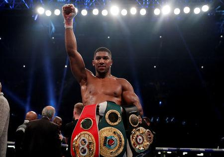 Anthony Joshua vs Carlos Takam - IBF & WBA World Heavyweight Titles