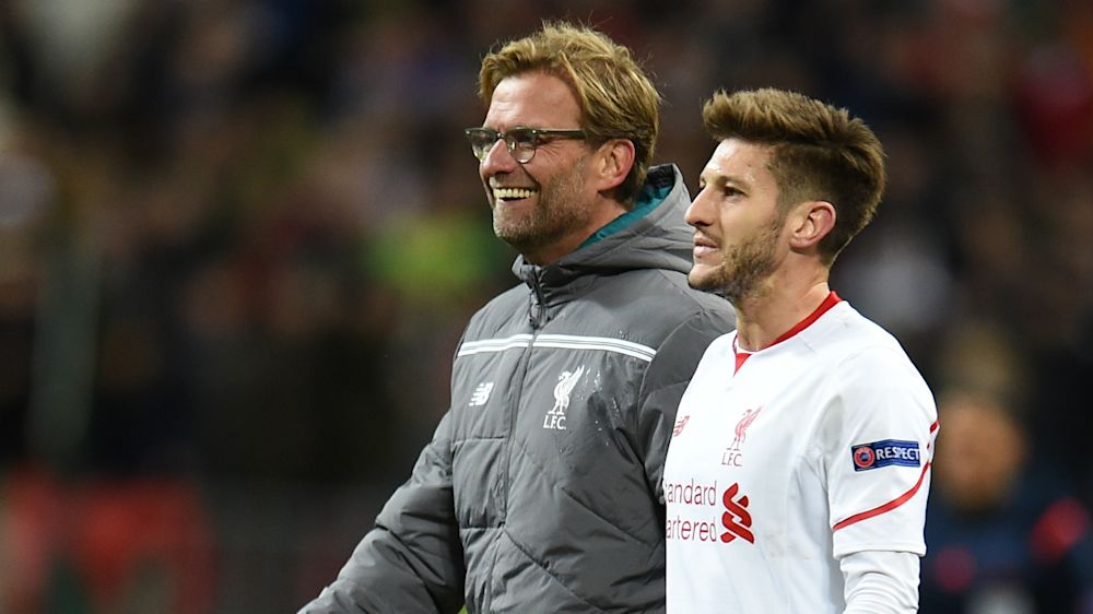 I could not be less relaxed about it - Klopp unhappy at Lallana injury blow