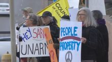 Regina rally raises safety concerns about SARM's self-defence resolution