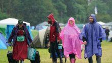 Music fans face great downpour at Download Festival pilot event