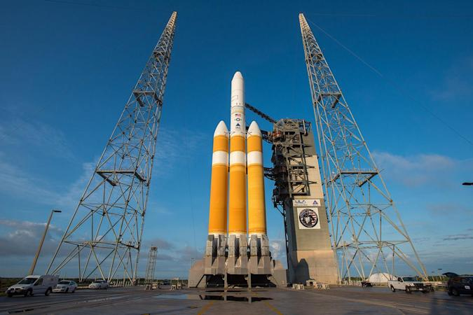 Watch NRO's spy satellite blast off to space at 1:30PM Eastern
