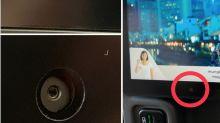Aerolíneas admiten tener cámaras instaladas en el respaldo de los asientos
