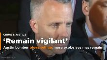 Texas serial bomber made video confession before blowing himself up