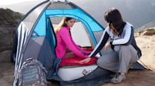 'It's like sleeping on a bed': This $85 air mattress is a must-have for camping