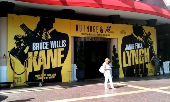 Kane & Lynch movie poster seen at Cannes