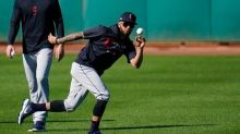 Rosario Finds Fit, Family While Joining Indians