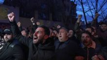 Armenians rally in support of ex-president Kocharyan ahead of vote