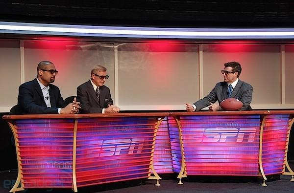 Friday Night Fights on ESPN 3D will be the first to simplify co-production for 2D
