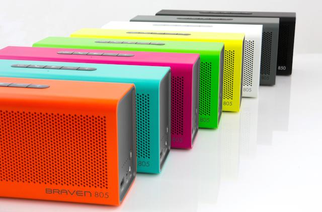 CES 2015: Braven rolls out new 805, Balance, and BRV-PRO Bluetooth Speakers
