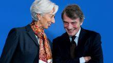 Anche Lagarde demolisce l'idea di Sassoli: no alla cancellazione del debito covid