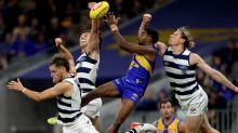 Naitanui stars as Eagles scrape past Cats