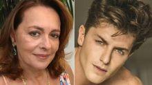 Maria Zilda fala de par romântico com Klebber Toledo na estreia do ator na TV: 'Ele era breguinha'