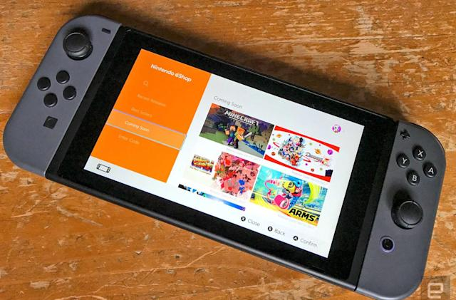 Nintendo Switch cloud saves won't be available for some games