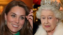 Kate Middleton 'rouba' brincos de diamantes da rainha Elizabeth II