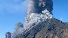 Italie: deux fortes explosions éruptives secouent le Stromboli