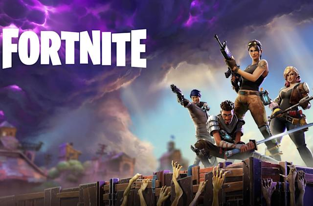 PS4 and Xbox owners were able to play 'Fortnite' together