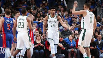Bucks continue making light work of Pistons