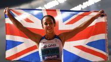 Katarina Johnson-Thompson wins World Championship gold with stunning heptathlon display