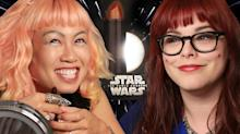 Star Wars Fans Try CoverGirl's Makeup Line