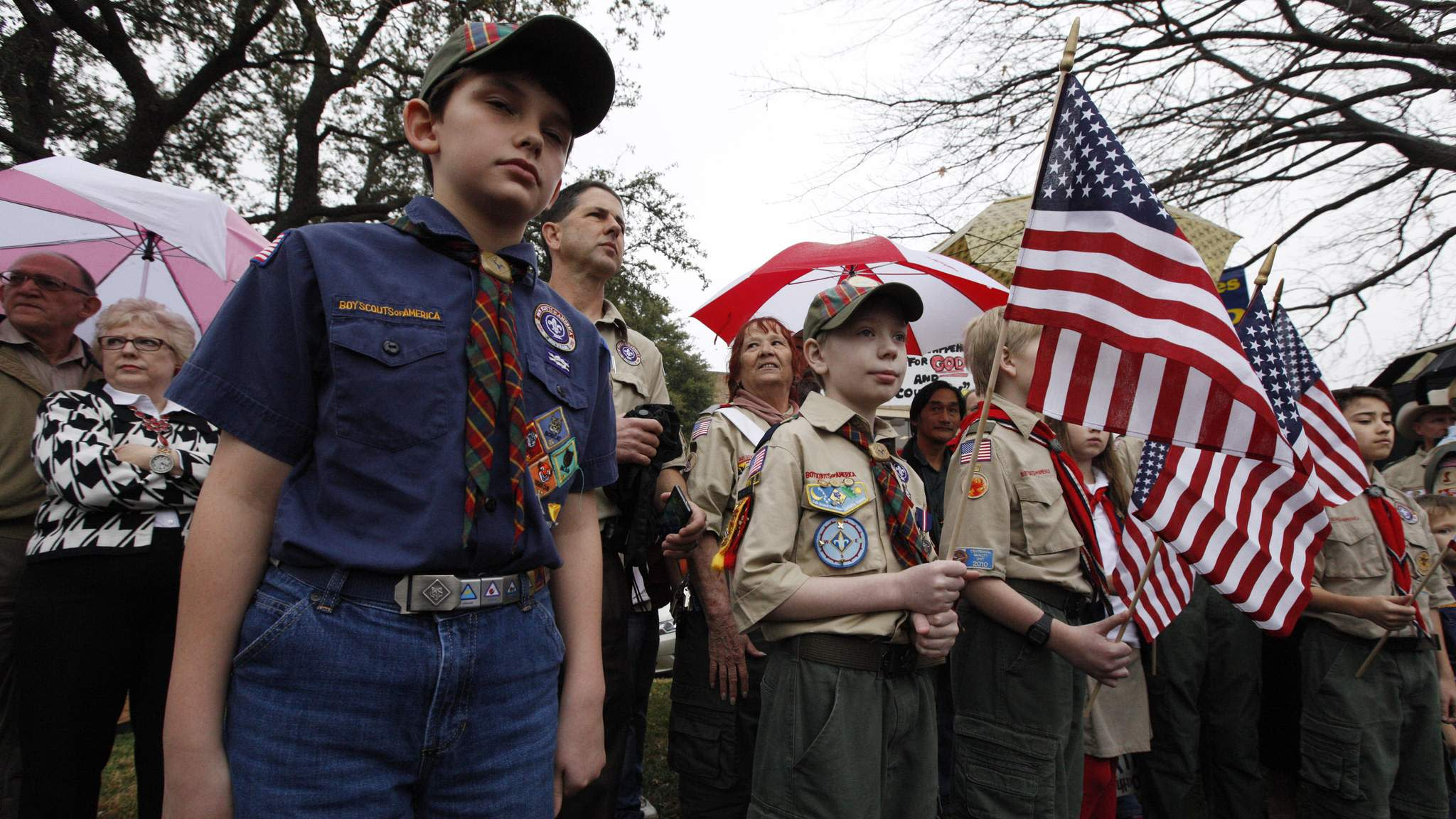 boyscout ban on gays