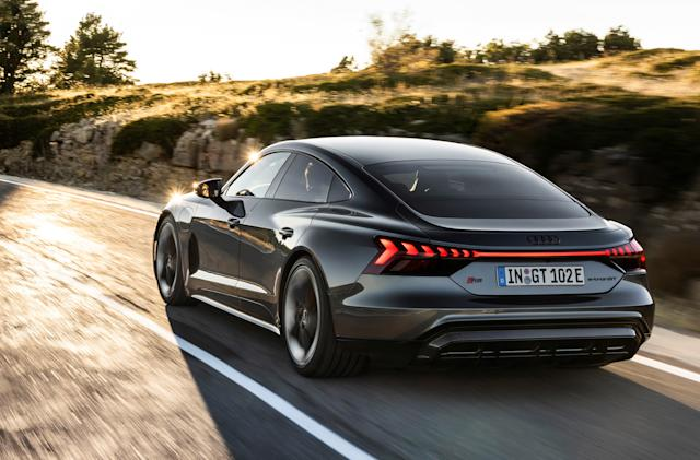 Audi anoints the e-tron GT as its luxuriously geeky flagship EV