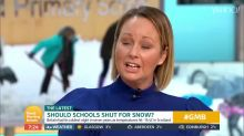 Mum sparks debate with claims schools should ban snow days