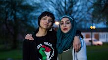 Saffiyah Khan reunited with woman she stood up for against the EDL
