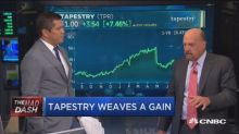 Tapestry has become an investable story, says Jim Cramer