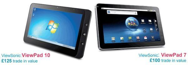 ViewSonic's trade-in program: send in your laptop for a ViewPad discount