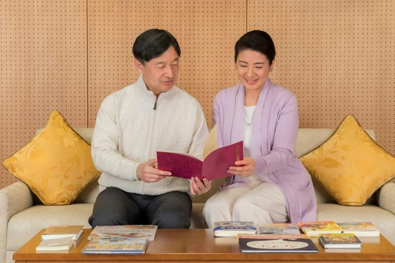Japan's Crown Prince Naruhito and his wife Masako, who has explained she sacrificed her career to 'make myself useful in this new path' (AFP Photo/Imperial Household Agency of Japan)