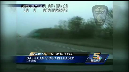 Authorities release dash cam video from Warren Co. chase