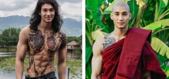Thai actor Paing Thakon's ripped reverence goes viral