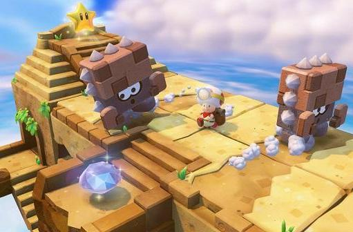 Adventure time for Captain Toad: Treasure Tracker on Dec. 5