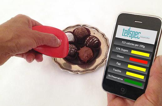 TellSpec identifies food ingredients and calories using science, magic