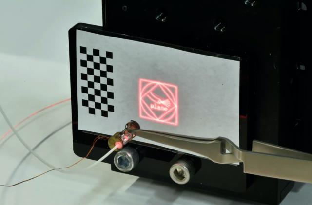 Laser microrobot makes minimally invasive surgery more precise