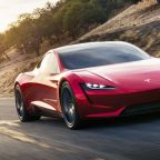 Tesla's Musk Reveals Second-Gen Roadster Supercar for 2020