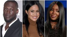 Stormzy And Naomi Campbell Voice Their Support For 'Lovely' Meghan Markle