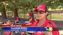 Heat didn't stop 400 softball competitors in Fresno