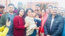 Kangana Ranaut Dedicates Temple In Hometown Ahead of 'Manikarnika'