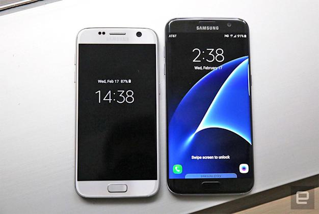 The Galaxy S7 and S7 Edge are beautiful, if unsurprising sequels