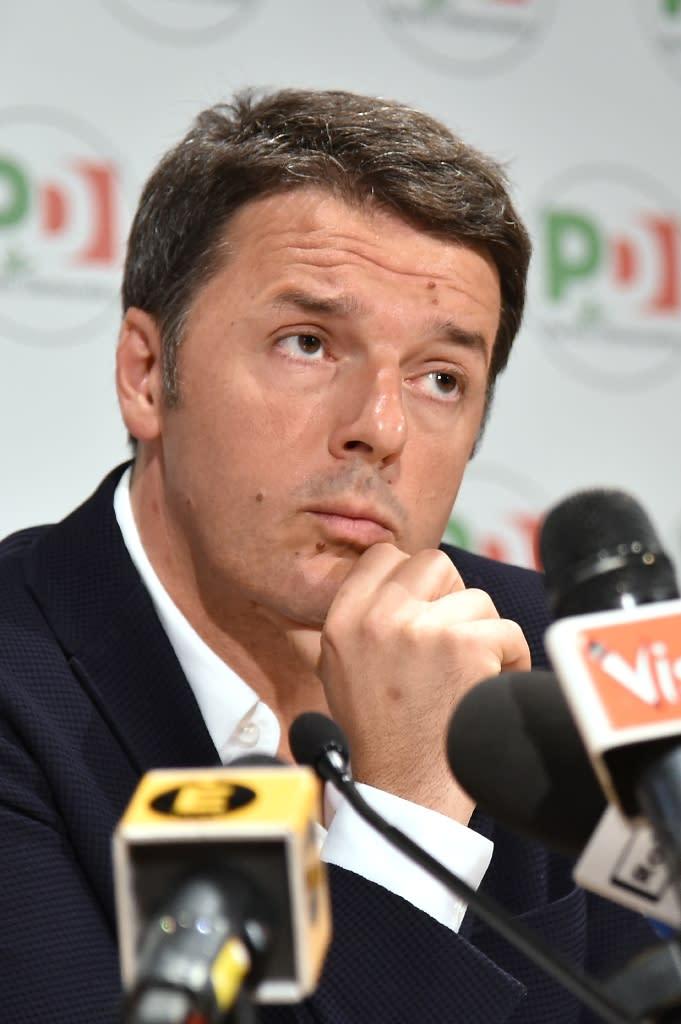 Italy's Prime Minister Matteo Renzi (AFP Photo/Alberto Pizzoli)