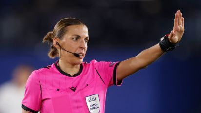 Frappart to become first woman to ref UCL match