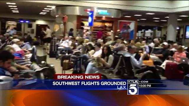 Southwest Airlines Holding All Departing Flights Over Computer Glitch