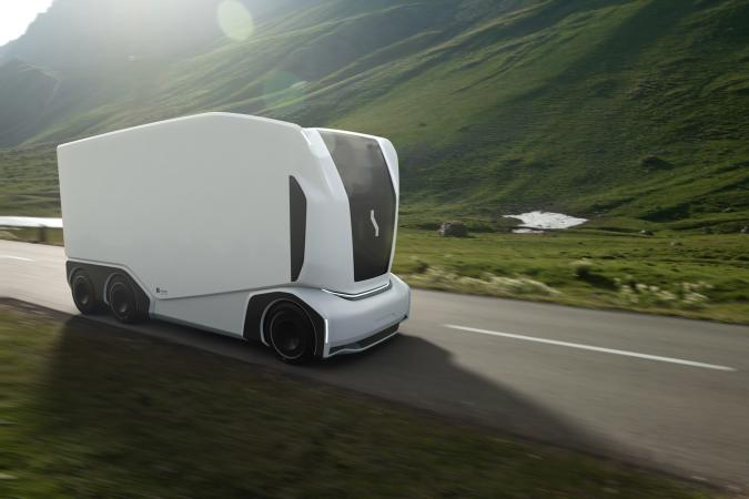 Einride's AET electric delivery truck