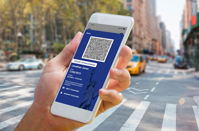 New York rolls out first digital COVID-19 vaccine passports in the US