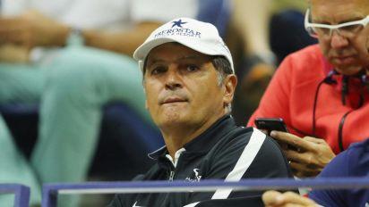 Toni Nadal coacht Auger-Aliassime