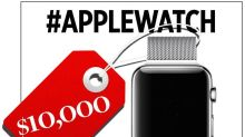 Social Media's Not So Positive Reaction to the $10K Apple Watch