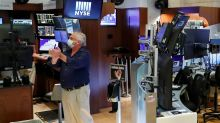Stock market news live updates: Nasdaq pulls back from record high as investors eye stimulus