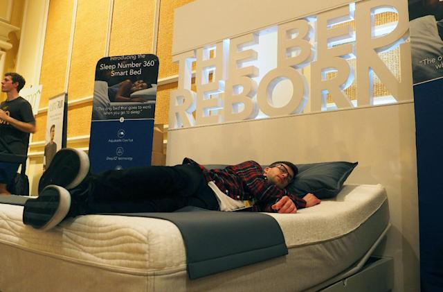 I took a nap on Sleep Number's auto-adjusting smart bed